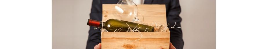 Skrzynki drewniane na wino, alkohol, piwo - Skrzynka drewniana na wino