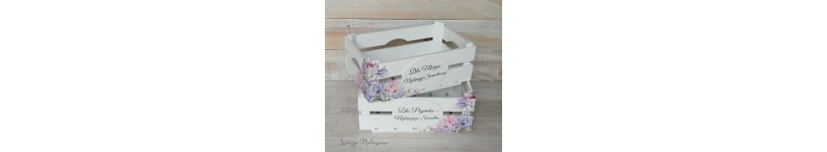 Dla fanów decoupage przygotowaliśmy pełen wachlarz drewnianych pudełek